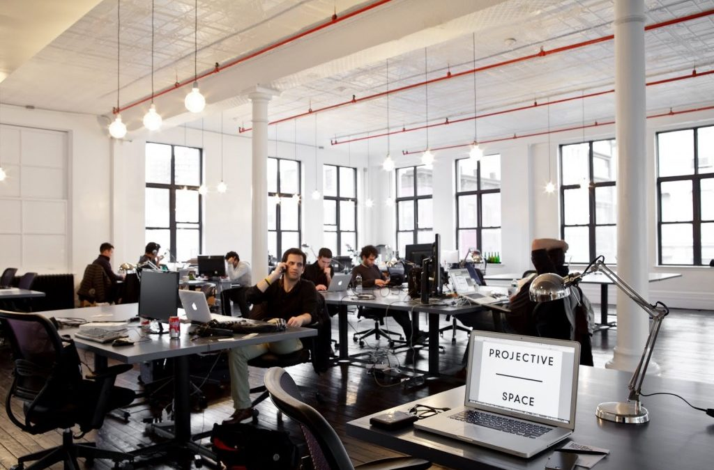 How a coworking space imagines corporate coworking