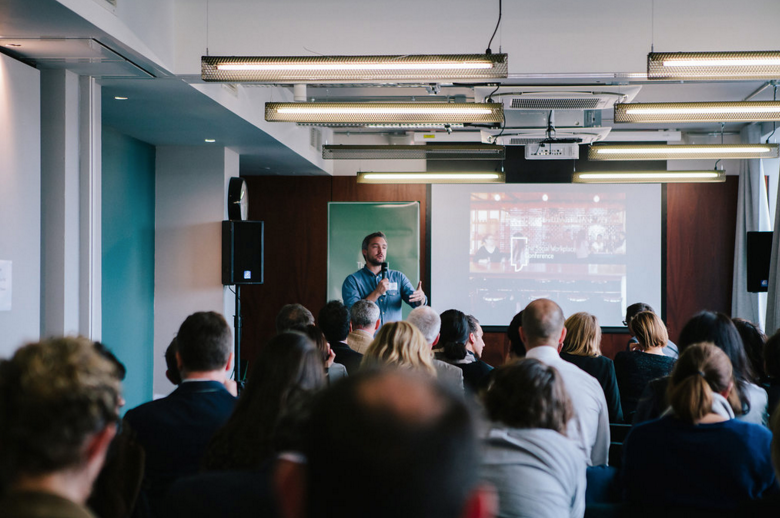 A look back at the inaugural Social Workplace Conference, London, 2015