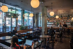 """We propose the off peak environment of beautiful restaurants for coworking""-Preston Pesek, Spacious NYC"