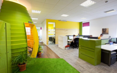 """Coworking can bring tired workspace back to life""-Hub Newry, Northern Ireland"