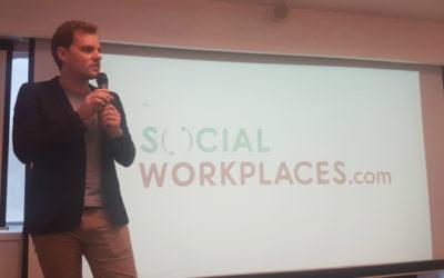 Social Workplace Paris 2017 social media coverage