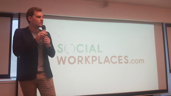 Social Workplace Paris 2017 social media coverage