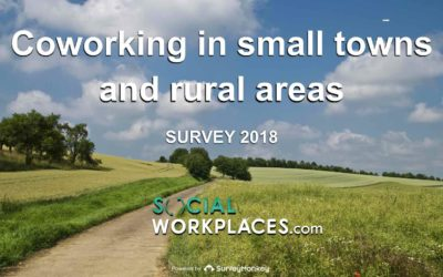A big yet untapped potential for coworking in small towns and rural areas (survey)