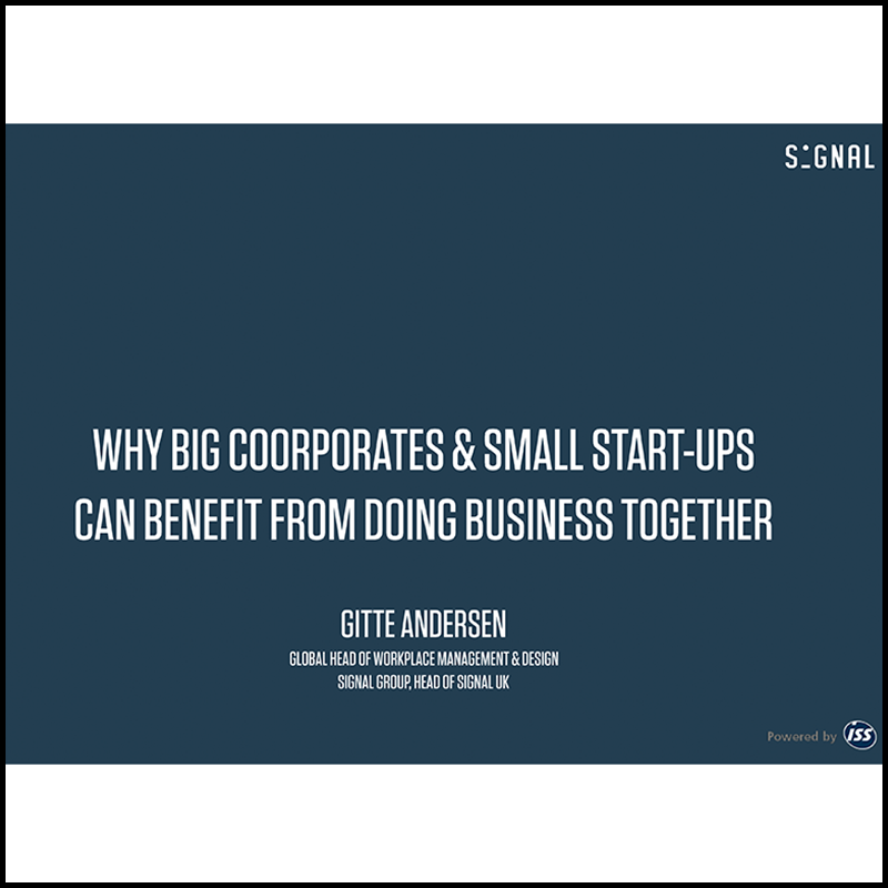 Why Big Corporates & Small Start-Ups Can Benefit From Doing Business Together? (2018)