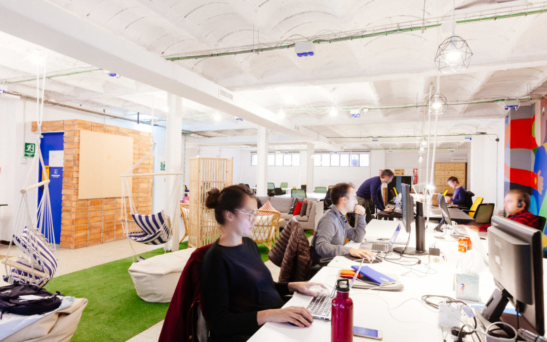 """Coworking is more and more about accommodating teams, not solely individual freelancers"""