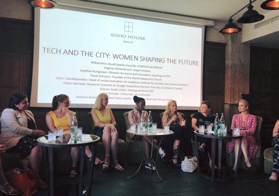"""""""CoWomen is more than just a coworking space: our vision is to support the next generation of female leaders"""""""