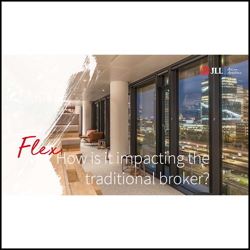 How the rise of flexible office impacts traditional brokers – The Amsterdam situation (2018)