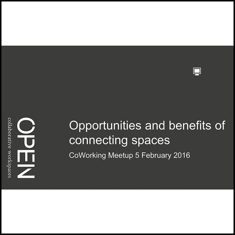 Coworking: a value proposition for neighborhoods (2015)