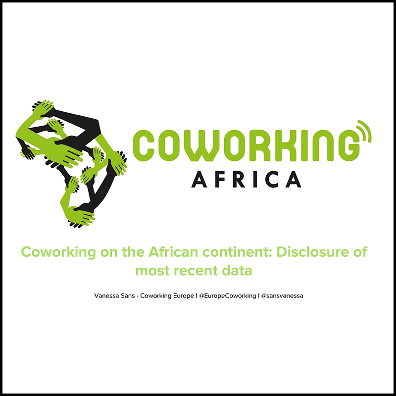 Last numbers about Coworking in Africa in 2016