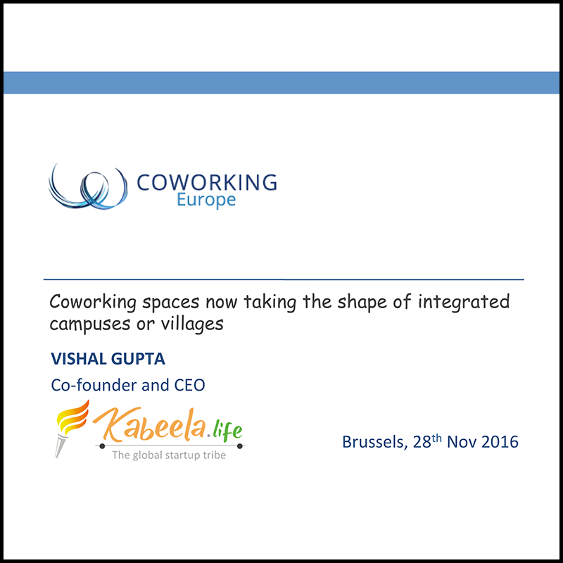 Coworking space transforming into campuses – Some London examples (2016)