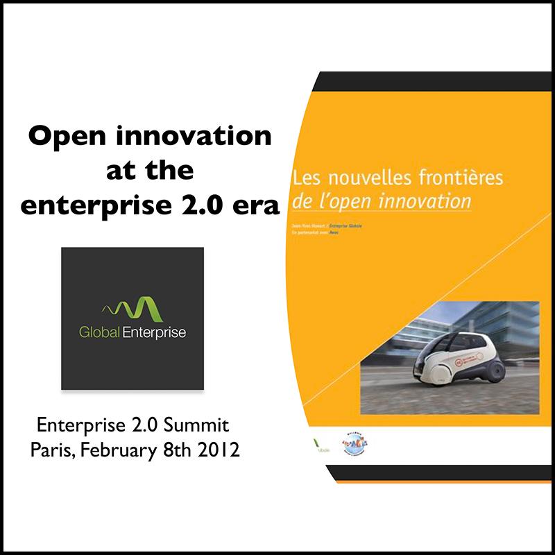 Open Innovation at the Enterprise 2.0 era (2012)