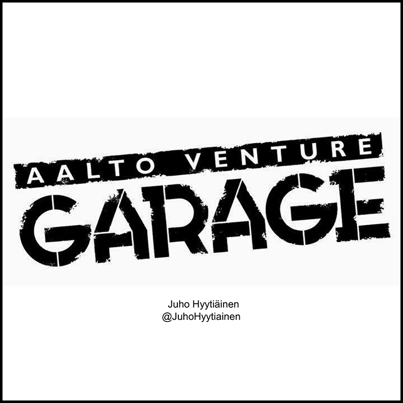 Finland: Aalto University coworking and startup garage (2011)