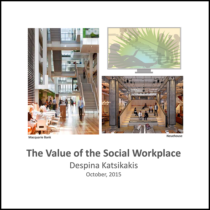 The value of the social workspace (2015)