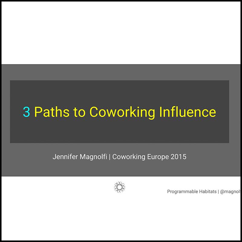 The evolution of coworking influences (by designer Jennifer Magnolfi) – 2015