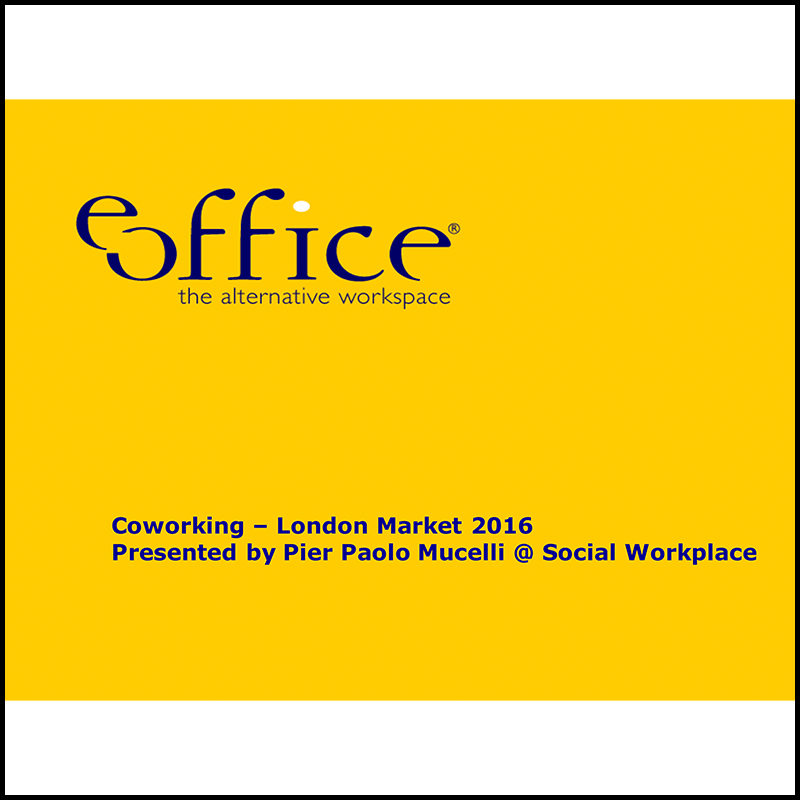 The Coworking London Market in 2016