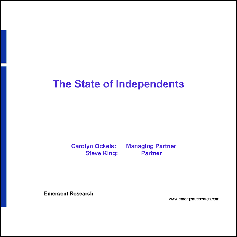 The state of independent workforce and impact on coworking demand (2012)