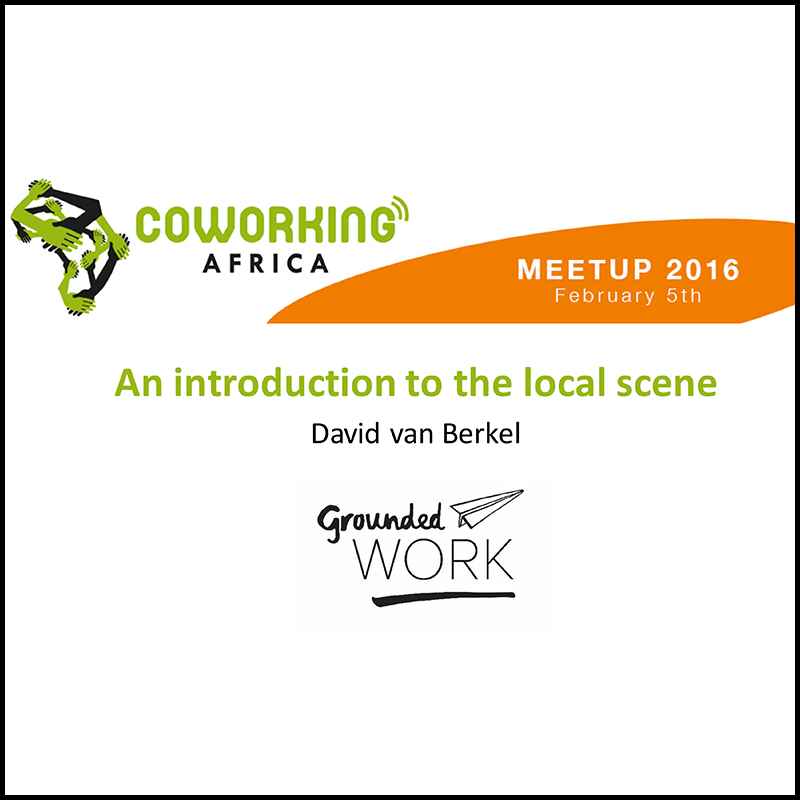 A view on the South African coworking scene (2016)