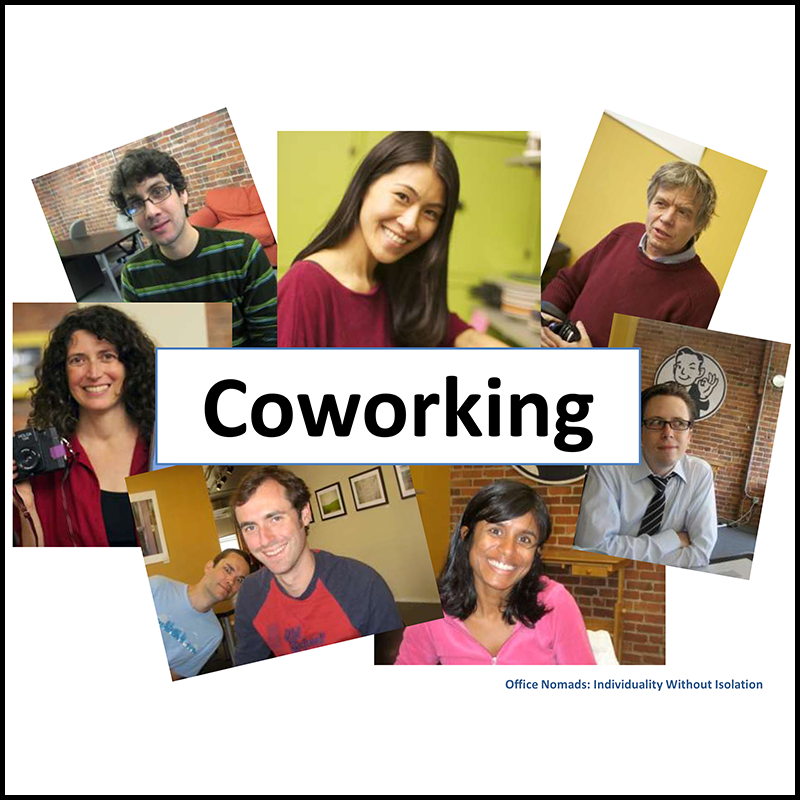 Office Nomads: coworking is individuality without isolation (2011)