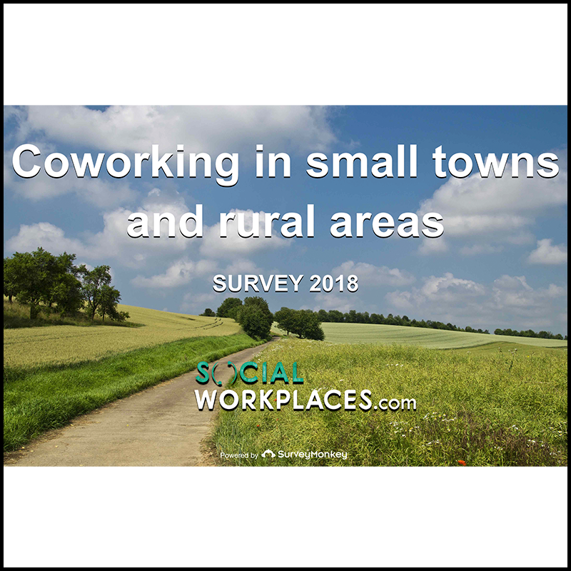 Coworking in small towns and rural areas survey – Europe (2017)