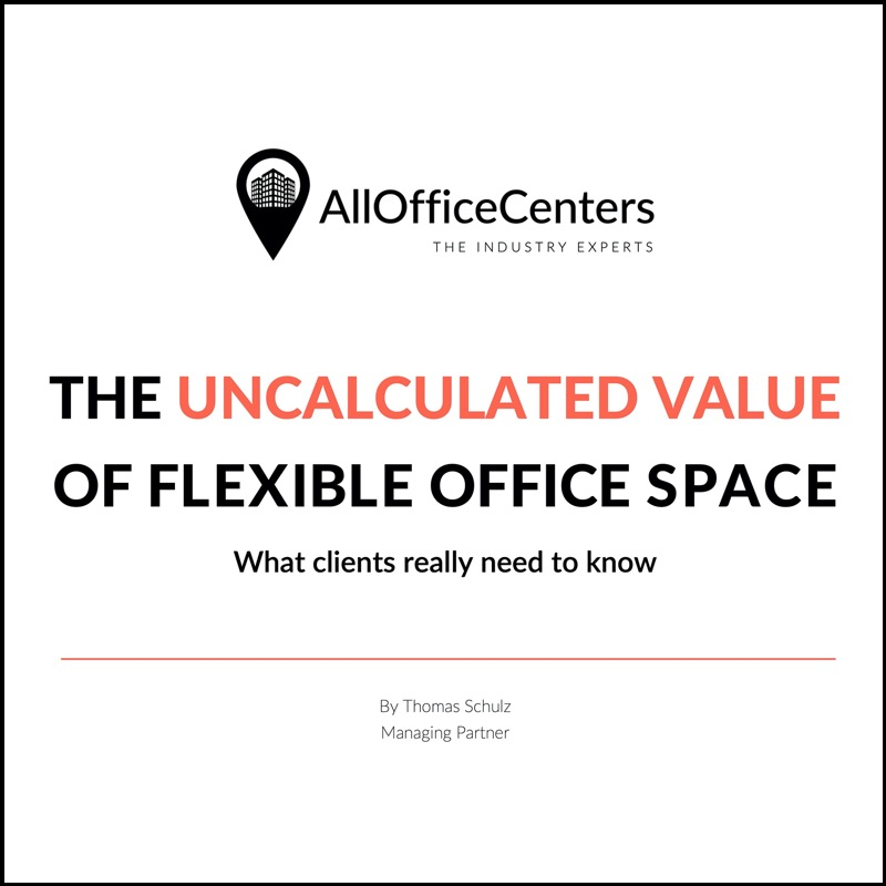The uncalculated value of flexible office space (AllOfficeCenters)