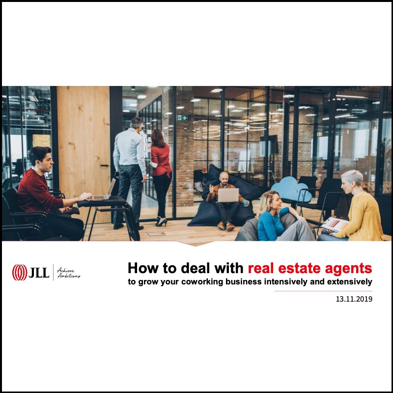 How to deal with real estate agents (JLL)
