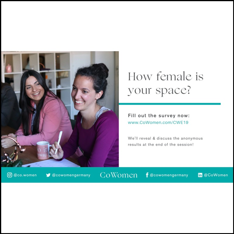 CoWomen – How female is your space?