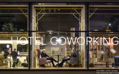 """Three and four stars hotels will growingly integrate coworking within their scope of services"""