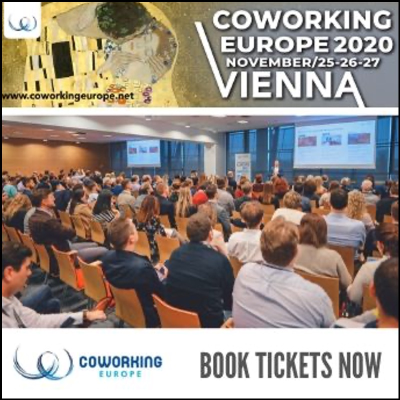 Coworking Europe 2020 (Vienna, Nov 25-27) – Mid Price ticket