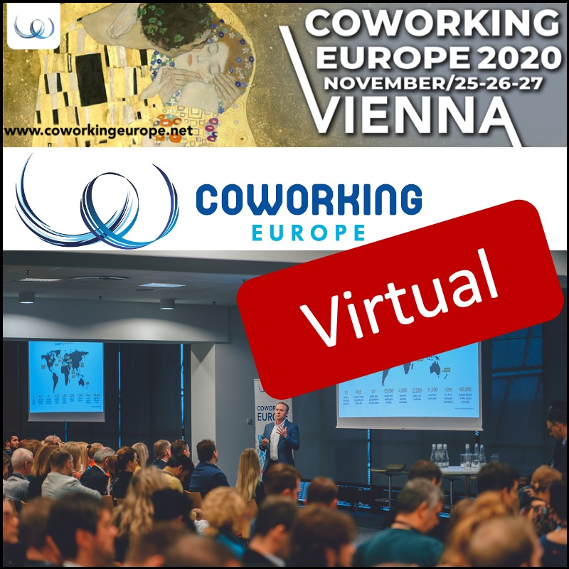 Coworking Europe 2020 – Virtual Conference Pass