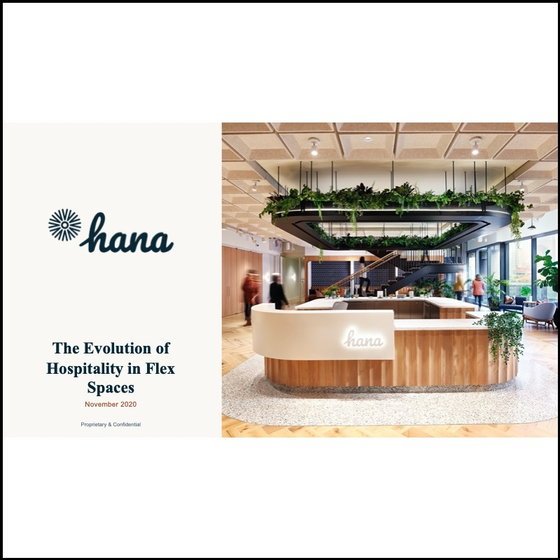 Coworking & Hospitality Management – the Hana experience