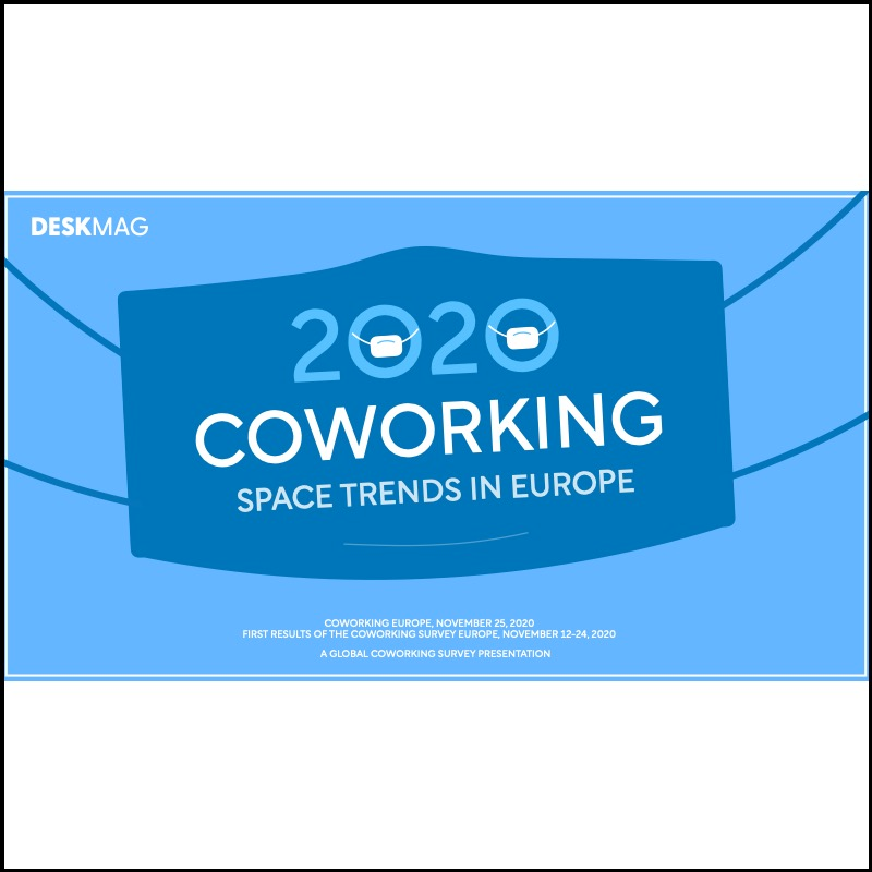 Coworking Trends in Europe 2020-2021: Latest data by Deskmag