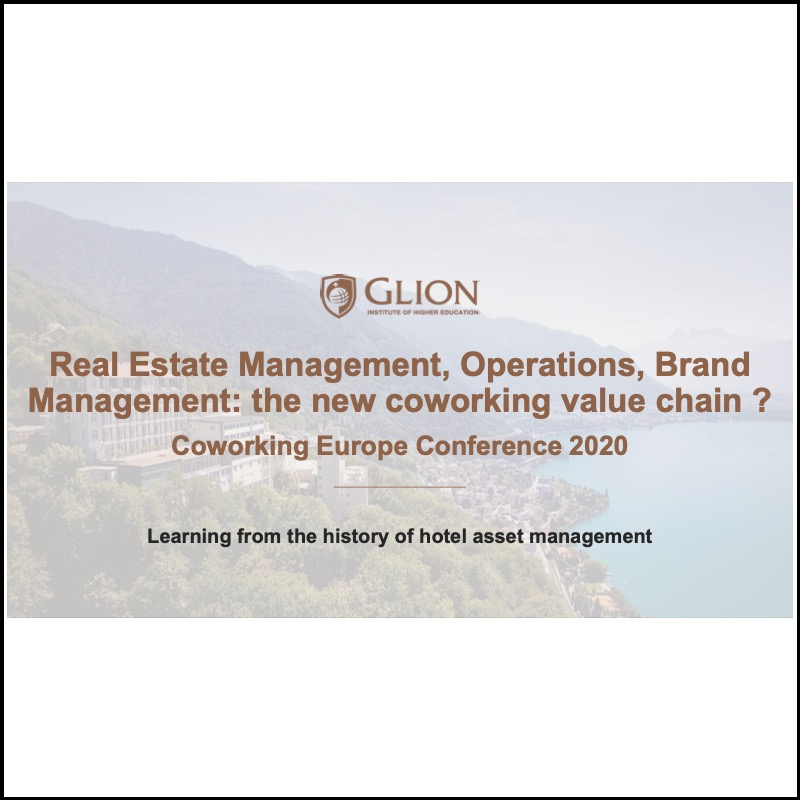 Real Estate Management, Operations, Brand Management: the new coworking value chain?