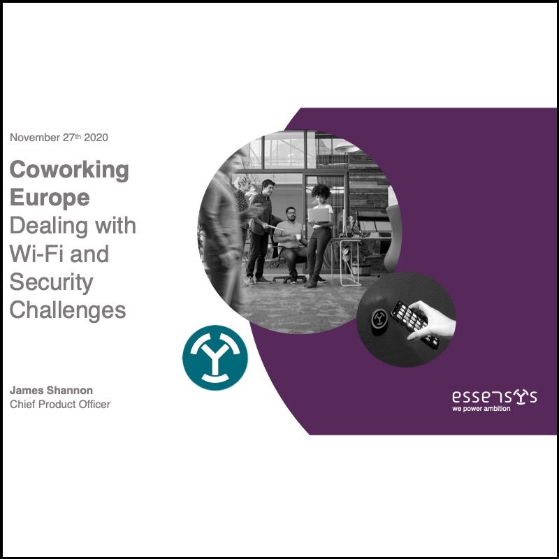 Wi-Fi & security challenges in flexible workplaces